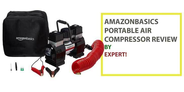 AmazonBasics Portable Air Compressor Review