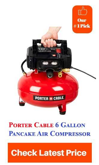 Best 6 Gallon Pancake Air Compressor