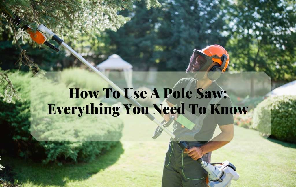 How To Use A Pole Saw 101: Everything You Need To Know